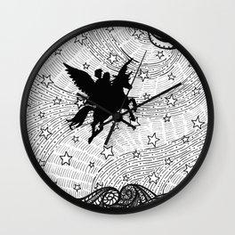 Flight of the alicorn Wall Clock