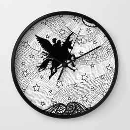 Flight of the alicorn Wall Clock
