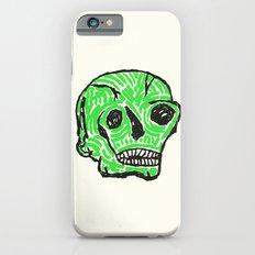 Green Skull Slim Case iPhone 6s