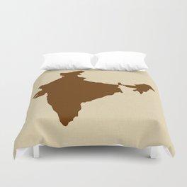 Nutmeg Spice Moods India Duvet Cover