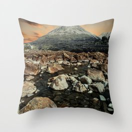 Valley of faires Throw Pillow