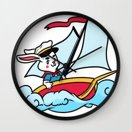 Beach Sailing Gift Land Sailing Beach Sports Wall Clock