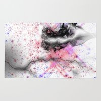 lightning Area & Throw Rugs featuring lightning by clarkcoulbourn