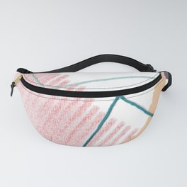 Stitched Abstraction #4 Fanny Pack