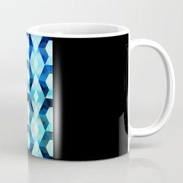 Blue hexy Coffee Mug