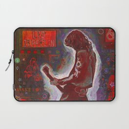 Rock and Roll in Red Laptop Sleeve