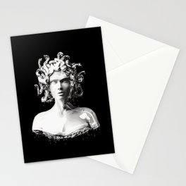 Silver Medusa Stationery Cards