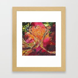 They Are Gone to Feed the Roses Framed Art Print