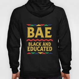 Dashiki Educated And Black African Dna Pride T-Shirts Hoody