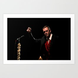 Hugh Laurie - II Art Print