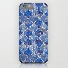 Ogee - Blue iPhone Case