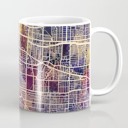 Memphis Tennessee City Map Coffee Mug