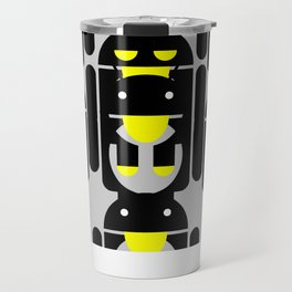 linux Tux penguin android  Travel Mug