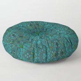 Digital graphics snake skin. Floor Pillow