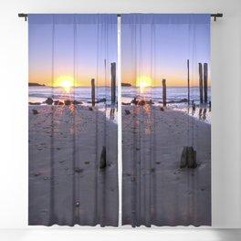Port Willunga Sunset Blackout Curtain