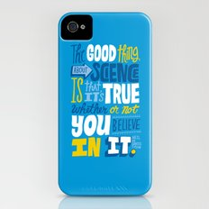 The Good Thing About Science iPhone (4, 4s) Slim Case