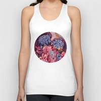 vonnegut Tank Tops featuring everything was beautiful, nothing hurt by Gabrielle Agius