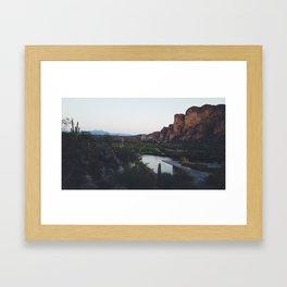 Desert Awakening Framed Art Print