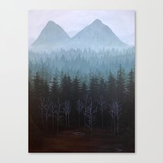 Twin Peaks Glastonberry Grove Landscape Canvas Print