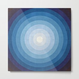 Chromatic circle IX Metal Print