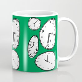 Clocks Green Coffee Mug