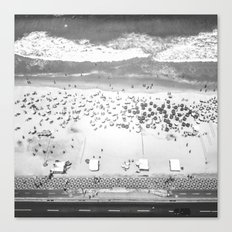 TOP IPANEMA B&W Canvas Print