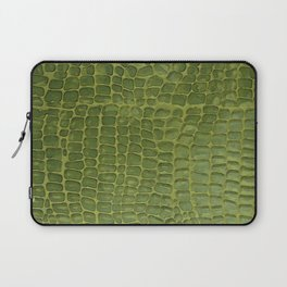 Alligator Skin Laptop Sleeve