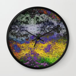 TRIPPY 2 Wall Clock