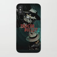 calvin and hobbes iPhone & iPod Cases featuring Calvin & Hobbes: Tracer Bullet Alternate by Gallery 94
