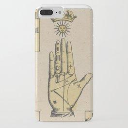 Vintage French Sun Tarot Card iPhone Case