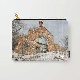 Vintage at the church gate. Carry-All Pouch