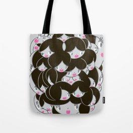Girlie Heads! Tote Bag