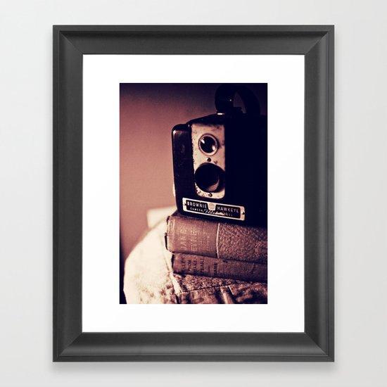 Vintage Love Framed Art Print
