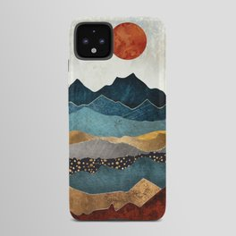 Amber Dusk Android Case