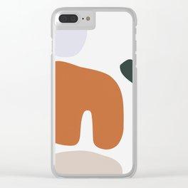 Shape Study #5 - Boulders Clear iPhone Case
