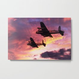 Lancaster Mission - Dawn Raid Metal Print