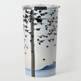Birds in Flight Travel Mug