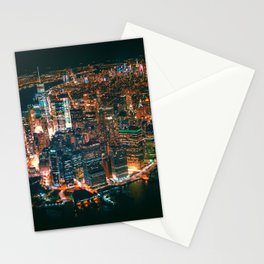 City of Lights New York City (Color) Stationery Cards