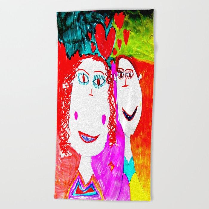 LOVE iN CHiLDHOOD | AGAIN |EROS Beach Towel