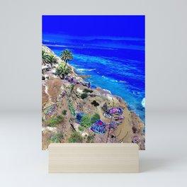 Sunken City, California. Mini Art Print