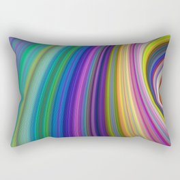 Colorful Storm Rectangular Pillow