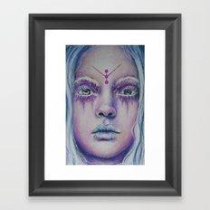 Starlight Witch Framed Art Print