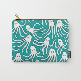 A Party of Handicapped Octopi III - Blue-isch Carry-All Pouch