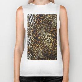 leopard skin Biker Tank