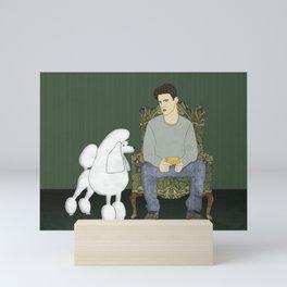 Meet the Poodle Mini Art Print