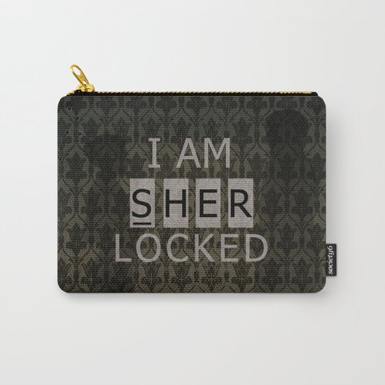 Sherlocked Carry-All Pouch