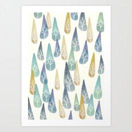 Water Brings Life Art Print