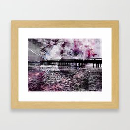 Shattered Illusions Framed Art Print