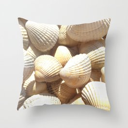 Sea Shells Collection Throw Pillow