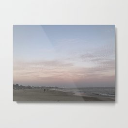 Cotton Candy Clouds Metal Print